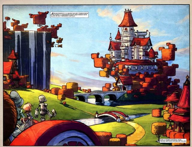 Imagen interior de El Mago de Oz