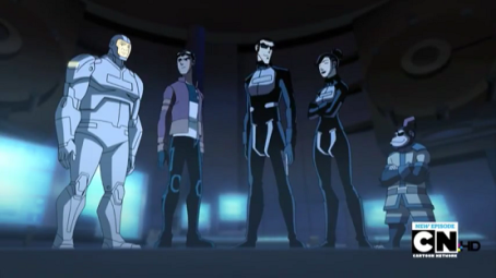 Generator Rex In black