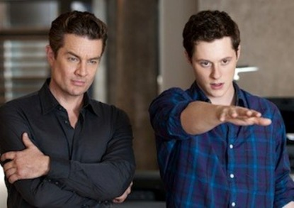 James Marsters and Noah Reid in Three Inches