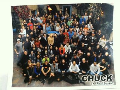 Chuck cast Finale