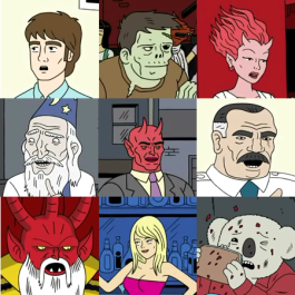 Ugly Americans Characters