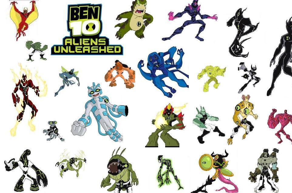 Ben 10 ultimate enemy ya leo yo por ti - Ben 10 tous les aliens ...