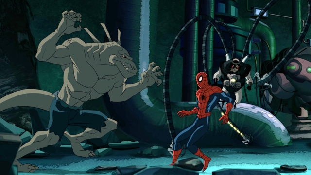 THE LIZARD, SPIDER-MAN, DOCTOR OCTOPUS