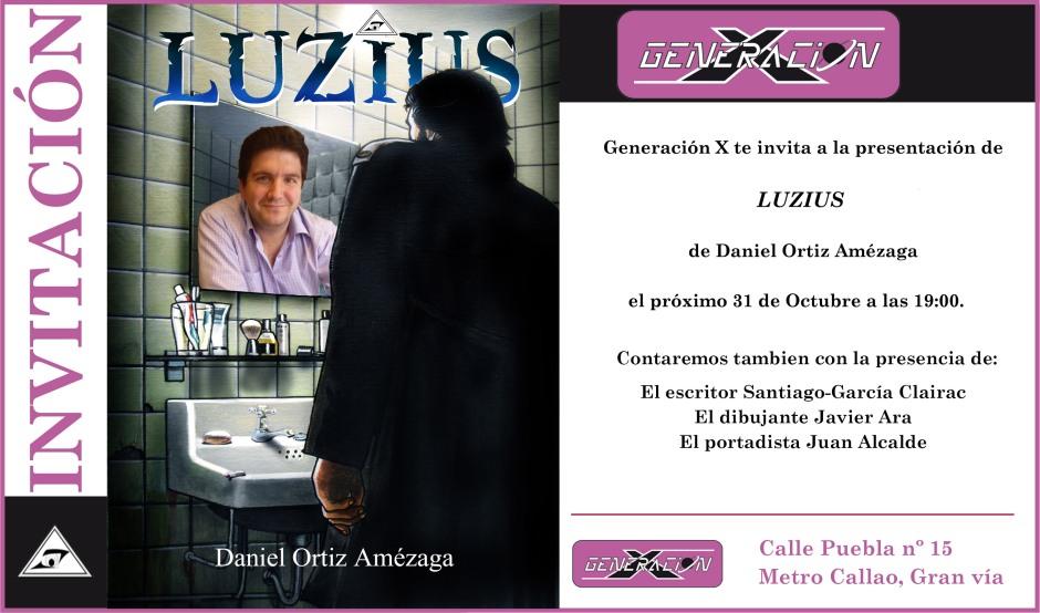 Invitación presentación Luzius