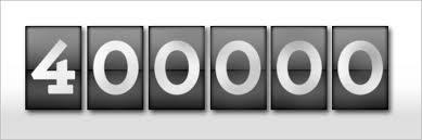 400000 visitas