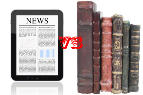 Ereader vs book